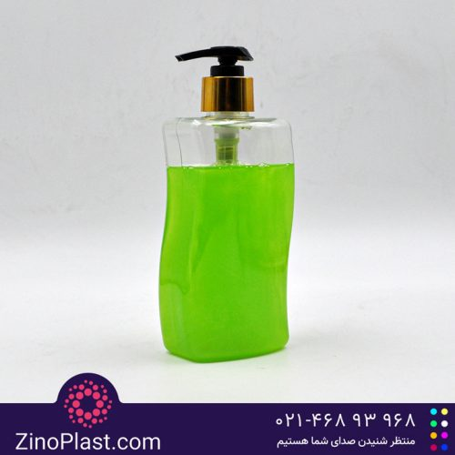 بطری نیم لیتری مایع دستشویی طرح S