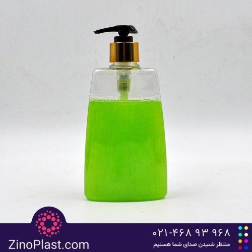 بطری نیم لیتری مایع دستشویی اکتیو | بطری پت
