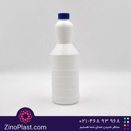 بطری سفید کننده 1 لیتری طرح گلرنگ کنگره دار