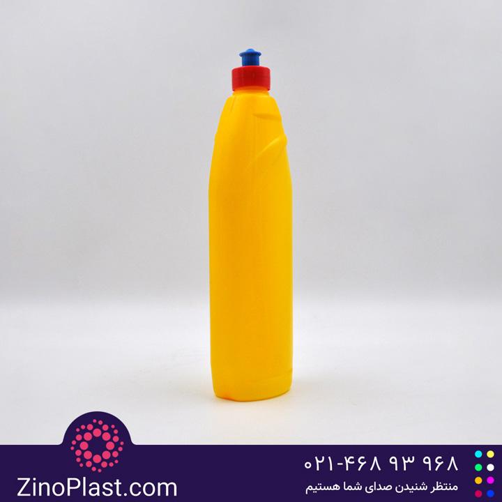بطری مایع ظرفشویی 1 لیتری طرح رامس