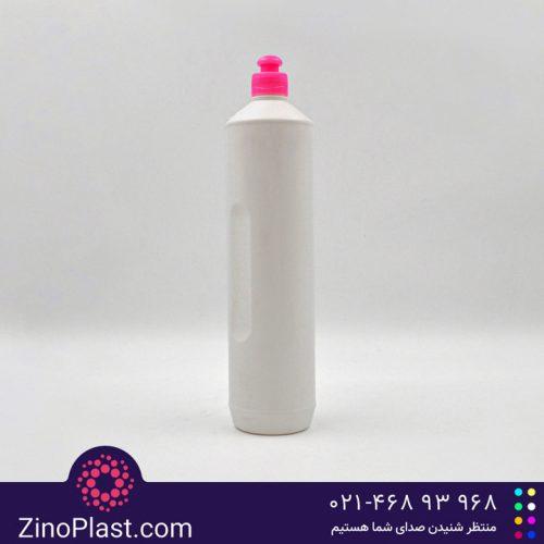 بطری 1 لیتری مایع ظرفشویی مدل استوانهای