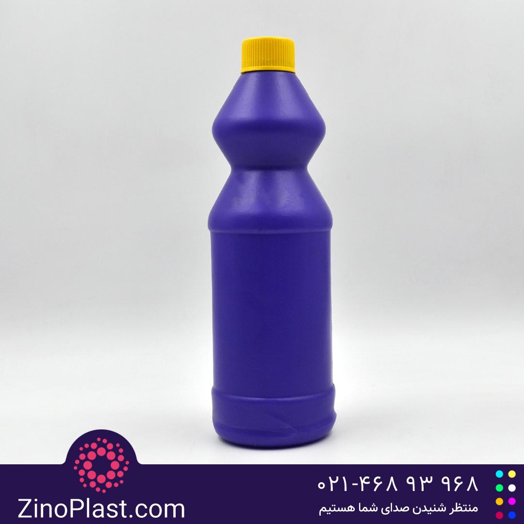 بطری ۱ لیتری سفید کننده طرح ساعت شنی